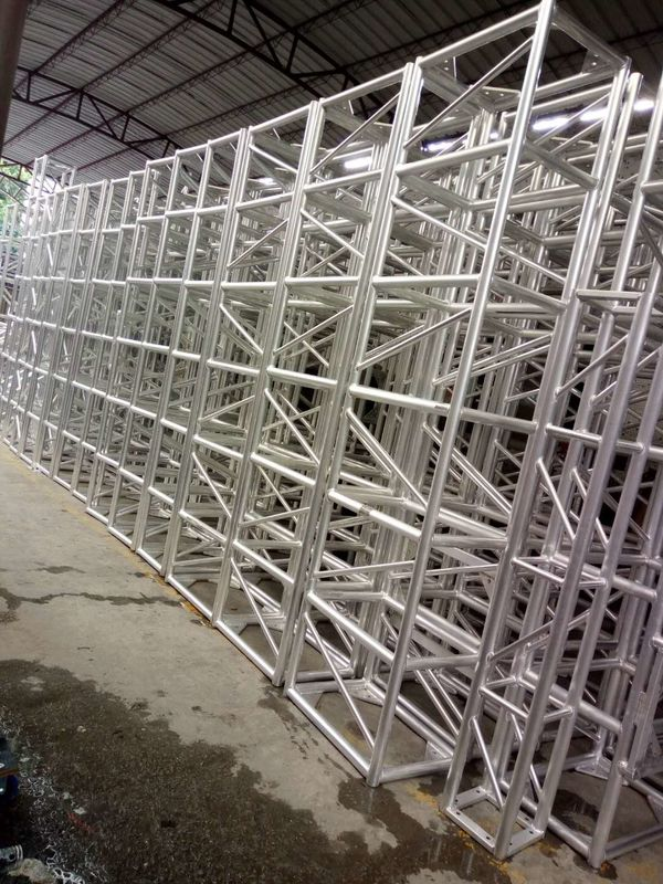 Bolt Square Stage Lighting Truss 400 X 400mm With Aluminum Material
