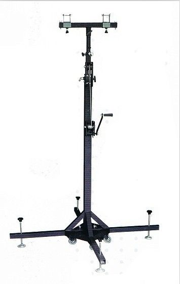 Easy Install 4m Light Weight Steel Truss Lifts Tower Crank Stands For Event Lighting Truss