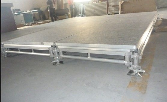 Outdoor Concert Telescopic Stage Platform With Alu T6082-T6