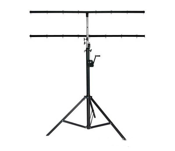 4M Adjustable  Height 40kg Loading Speakers Lighting Truss Stands / DJ Truss Stand 2 Meters High