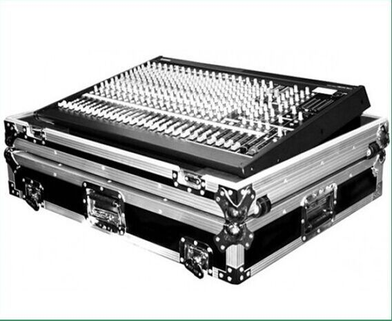 Dj Mixer Aluminum Tool Cases  ,  Portable Flight Case for Placing Equipment